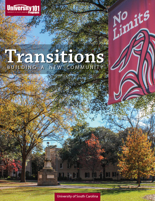 """The winning cover design highlights the """"No Limits"""" spirit at USC and the beautiful campus."""
