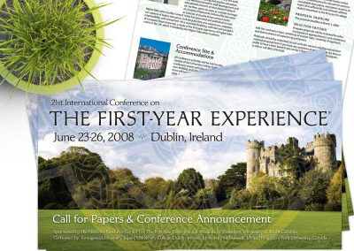 Event Marketing: Ireland International Higher Education Conference