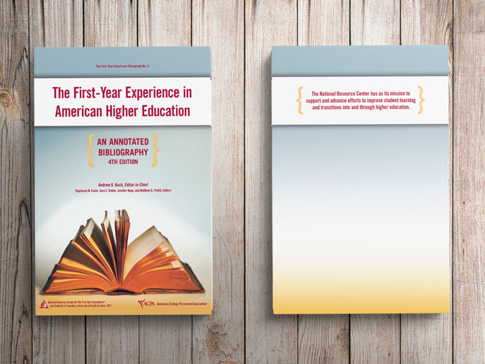 Book Design: Experience in American Higher Education