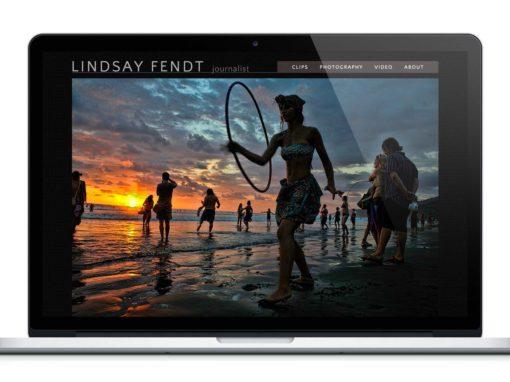 Website Design for Freelance Journalist & Photographer
