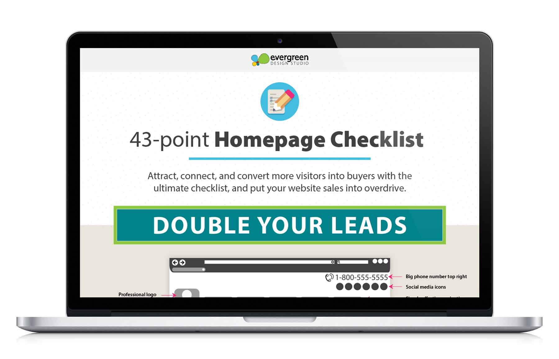 6 Tips to Double Your Leads and Make Your Homepage Work for You