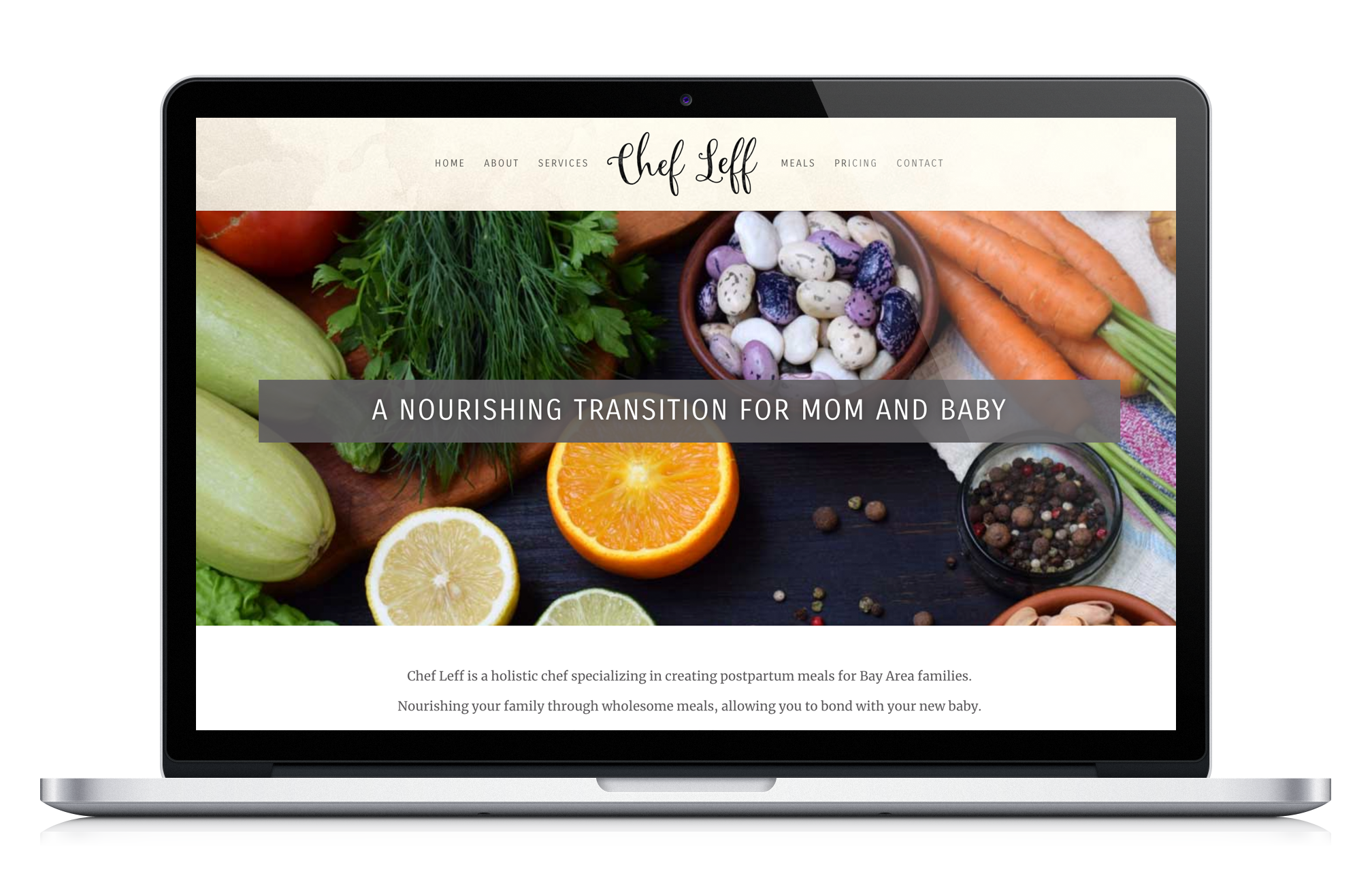 Chef Leff Web Design