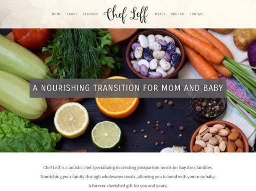 Chef Leff Web Design