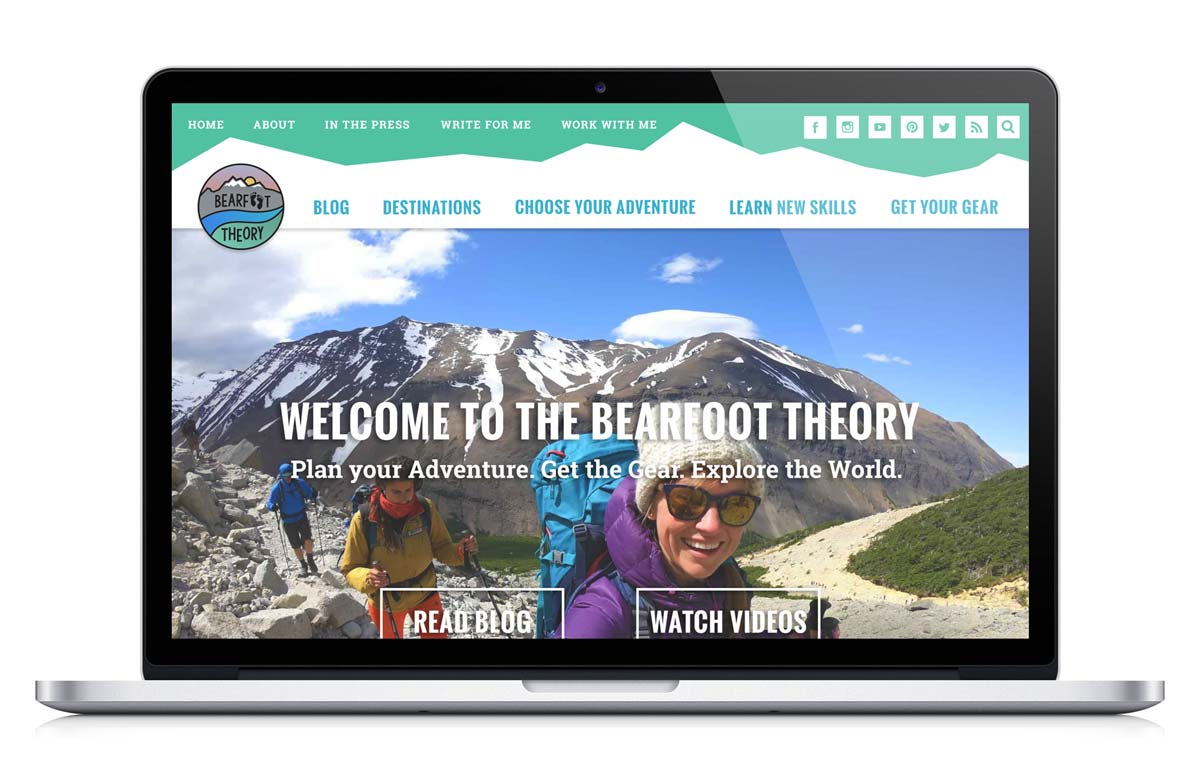 Outdoor Enthusiast Website Design